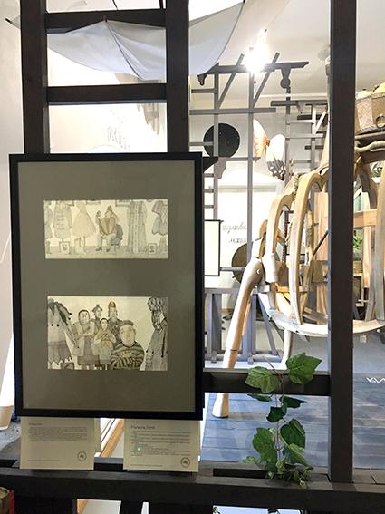 Открыта выставка работ Натальи Демьяненко к моим сказкам!